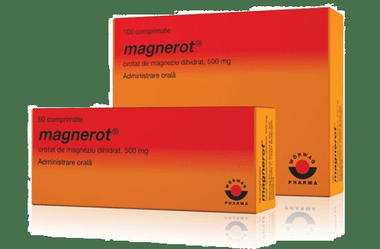 Magnerot®: Magneziu 500 mg, 50 capsule dihidrat - WÖRWAG Pharma